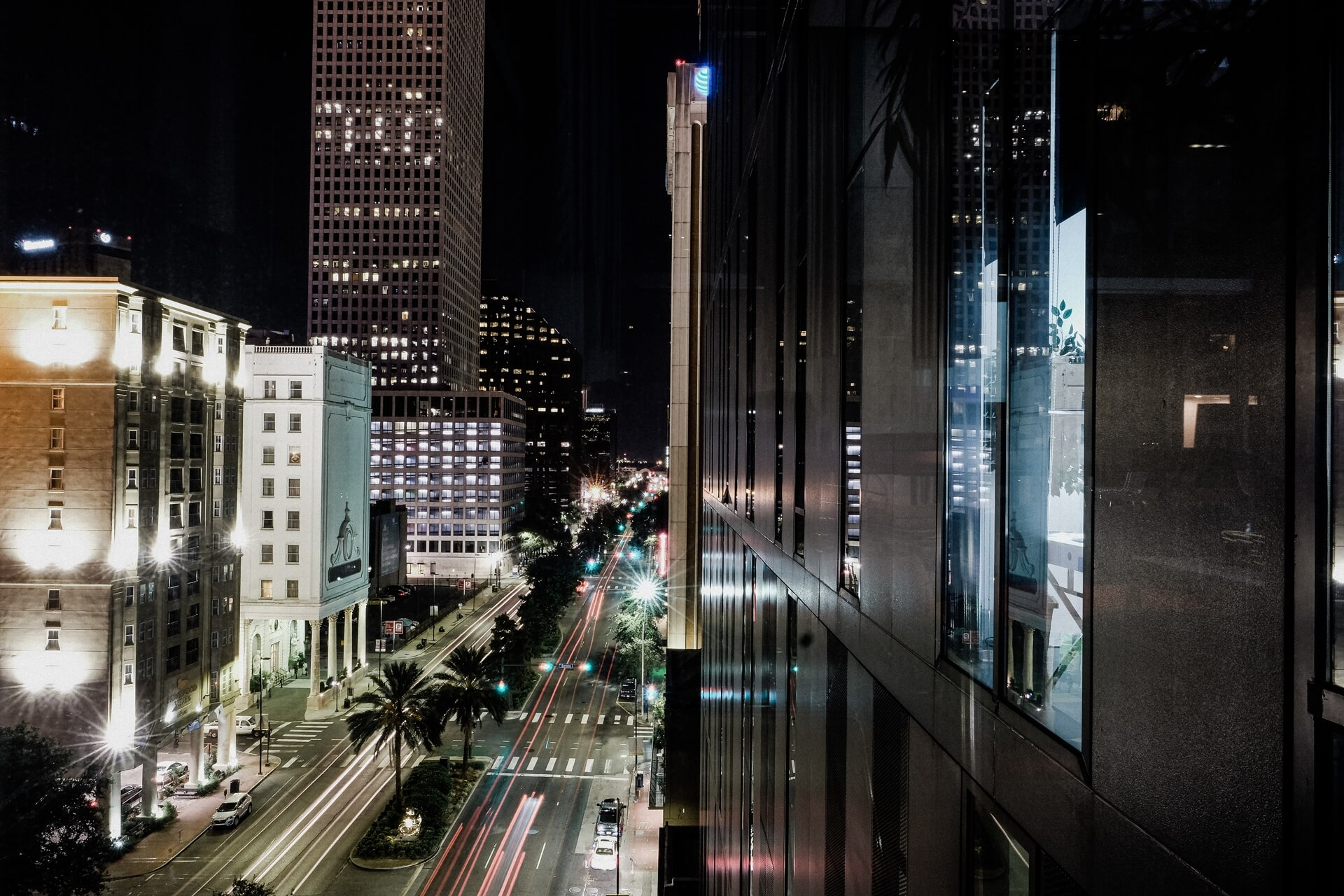 An exterior photo of 930 Poydras